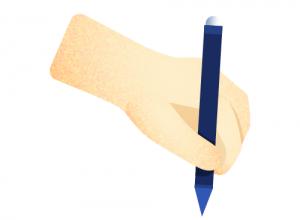 escrita dislexia